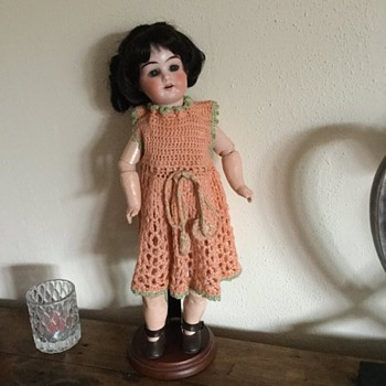 "Mystery doll 14"" tall. B and 8/0 on back of head"