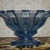 Bohemian Art Deco glass bowl.