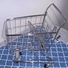 Toy shopping cart.