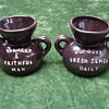 A miniature spittoon- (front and back view)