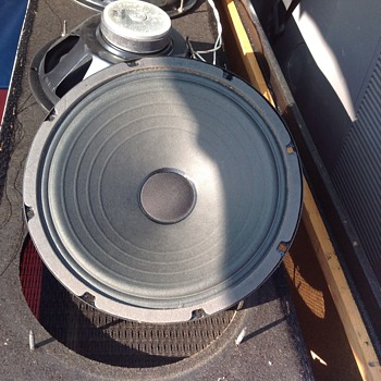 vintage speaker drivers 10 inch  - Electronics