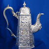 Irish Antique Silver Coffee Pot, William Nowlan, Dublin 1831