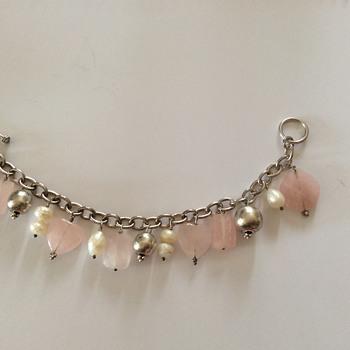 Silver charm brecelet!  - Fine Jewelry