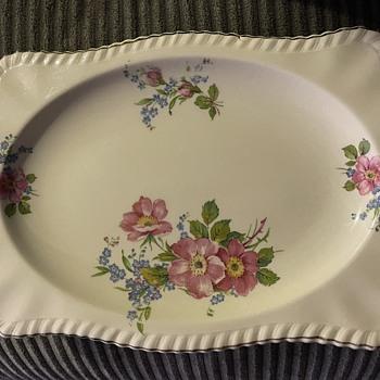 Johnson Bros Platter - China and Dinnerware