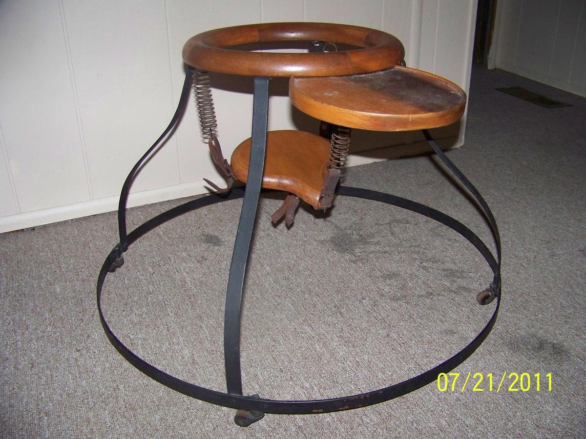 antique baby walker  collectors weekly -