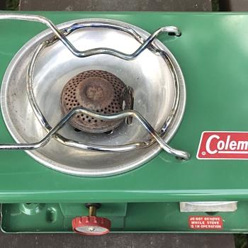 Coleman picnic stove. - Kitchen