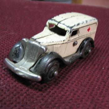 1930's cast iron ambulance