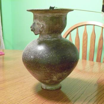 Antique ceramic vase - Pottery