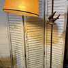 Does anyone recognize this lamp? Or know how I can repair/mourn/replace the shade?