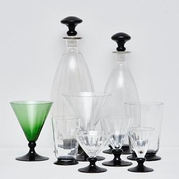 Klintholm Glass, Holmegaard Glassworks (Denmark), 1935 - Art Deco