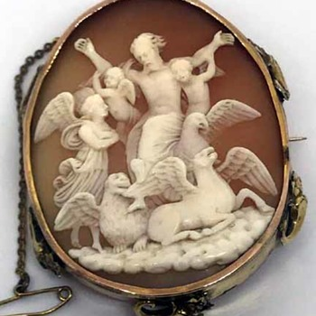 Rare cameo of Mathew Mark Luke and John - Fine Jewelry