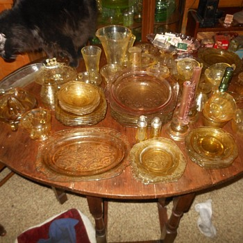 An Amber Alert! - Glassware