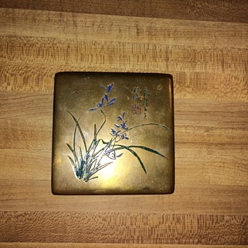 Brass/metal box  - Asian