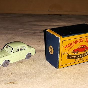 Micro Mini Matchbox Monday MB57A Wolseley 1500 1958-1960 - Model Cars