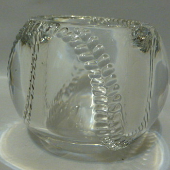 Royal Copenhagen glass marked votive candle holder? - Lamps