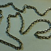 Primitive silver chain