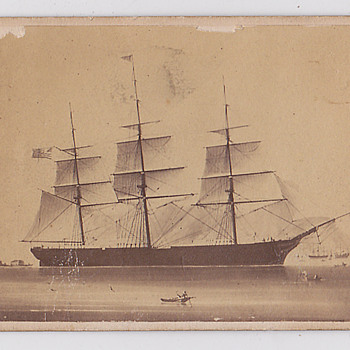 Not a Cdv afterall, what years possibly? - Photographs
