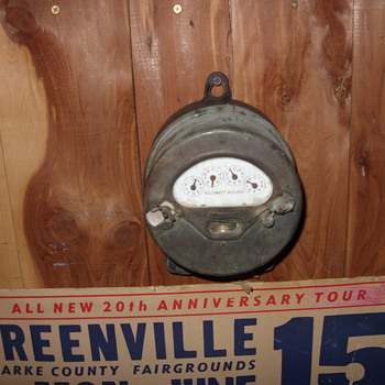 old electric meter - Tools and Hardware