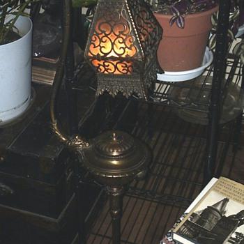 Brady Smoking Stand Lamp - Lamps
