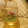 Original Swiss Reuge singing bird cage