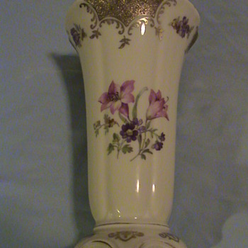 RS Tillowitz Vase Filigran  D.R.P. Angem marked - China and Dinnerware
