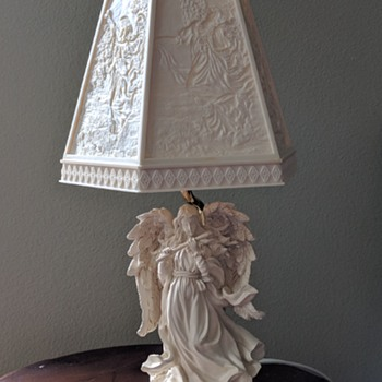 Beautiful vintage table lamp. - Lamps