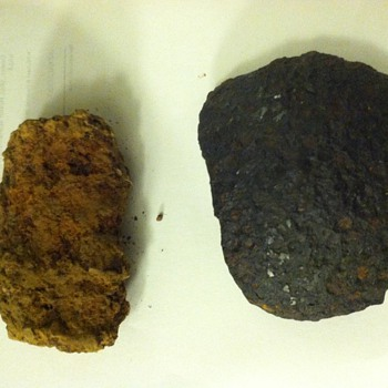 Civil War Artillery Fragments - I dug up. These were last touched by humans when they were fired during the Civil War. - Military and Wartime