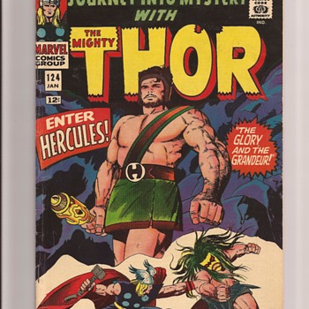 Journey into Mystery Hercules - Comic Books