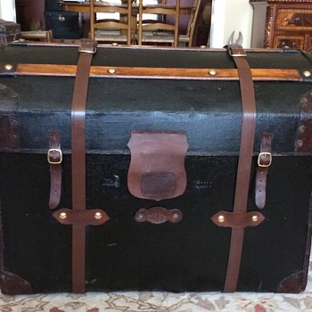 Irish Made Wicker Trunk Completed