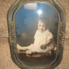 Antique Bubble Frame of Baby Boy