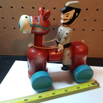 Wooden Toy Soldier - Toys