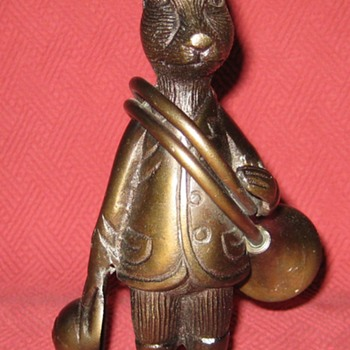 Early 1930 Bronze Huntsman Hare - Animals