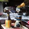 1950s Kokesha African voodoo incense burner.