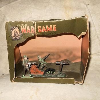 Johillco War Game Series (Anzio?) Circa 1950s - Toys