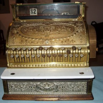 1900's National Cash Register - Coin Operated