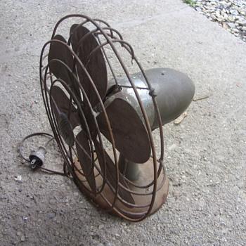 art deco airflow fan