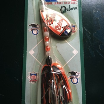 Baltimore orioles fishing lure