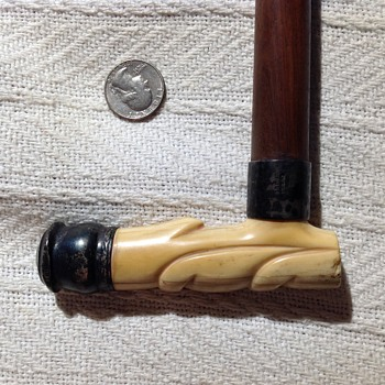 Sterling and ivory walking stick - Accessories