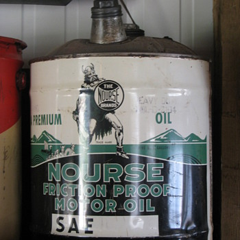 Nourse Oil can