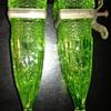 Depression Glass Car Bud Vases