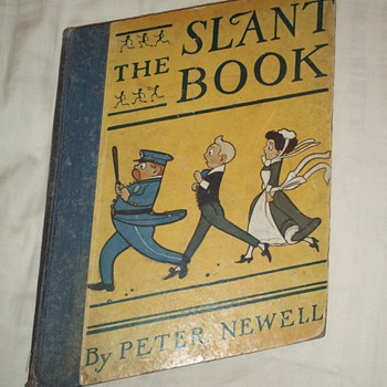 The Slant Book, by Peter Newell 1910 - Books