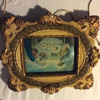 Lighted Religious frame