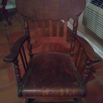 Coil Rocking Chair - Furniture