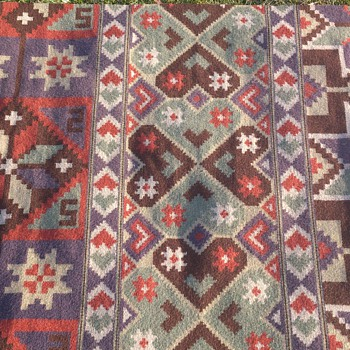 Handcraftet wallhanging/rug from Sweden - Rugs and Textiles