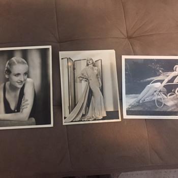 Carole Lombard - Photographs