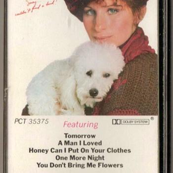 """""""Barbra Streisand"""" Cassette Tape - Music Memorabilia"""