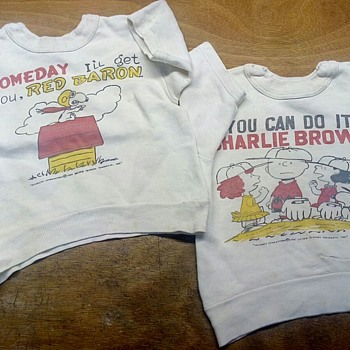 Mid '60 kid t-shirt Charlie Brown and Snoopy