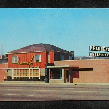 Kearney's Barbecue, Edwardsville, PA 1950s - Mid-Century Modern