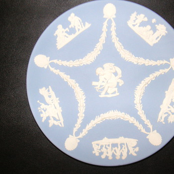 Jasperware Wedgwood Plate - MAYBE RARE