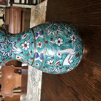 Icaros Pottery Vase - Pottery